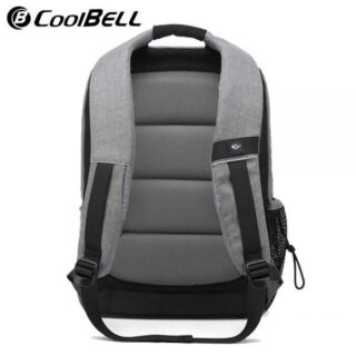 CoolBell CB 7007 Newest 15″ Grey Nylon Backpack