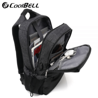 Coolbell CB-7007 15.6 Inch Unique Backpack with USB Port
