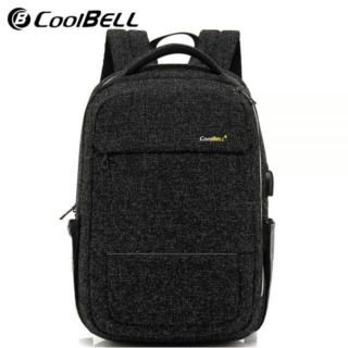 Coolbell CB-7008 15.6 Inch Waterproof Wearable Backpack with USB Port