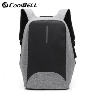 Coolbell CB-8001 Anti-Theft 15.6 Inch Backpack with USB Port Multi-Functional Bag Unique & Elegant Design Water Resistant