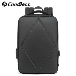 Coolbell CB-8101 Anti-Theft TSA Three-Digit Lock Backpack with USB Port Shock Proof Water Proof