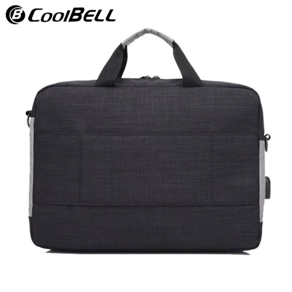 Coolbell Cb 503 15.6 Inch Water Resistance Laptop Bag Usb Port