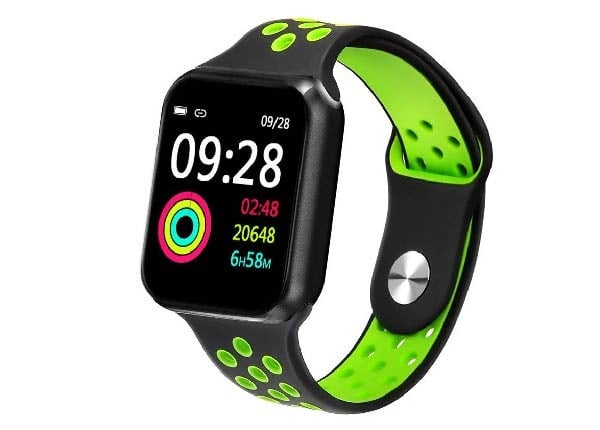 F9 Bluetooth Smart Bracelet Sport Watch for Android and IOS, Green