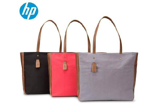 HP 14-inch Laptop Canvas Tote Bag