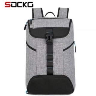 SOCKO Laptop Backpack 17 Inch for Women / Men,SOCKO Multi-functional Water Resistant Causal Daypack / Sport Gym Bag with Shoes Pocket / College Travel Business Backpack for Laptops Up to 17.3 Inches