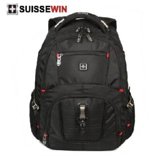 Original Suissewin Backpack 15.6 SN9932 With AUX Port