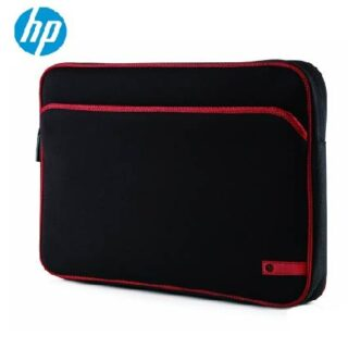 HP 15.6 Inch Laptop Sleeve – Black and Red